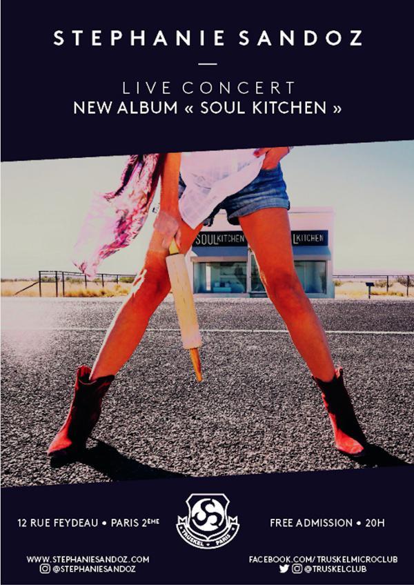 "Stéphanie Sandoz & ""Soul Kitchen"""