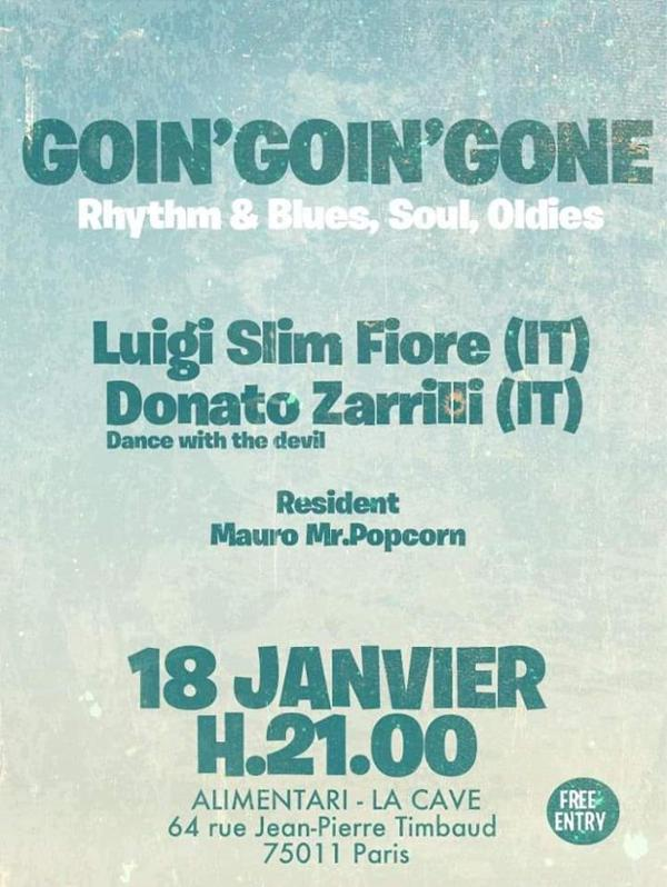 Goin' Goin' Gone - Rhythm & Soul