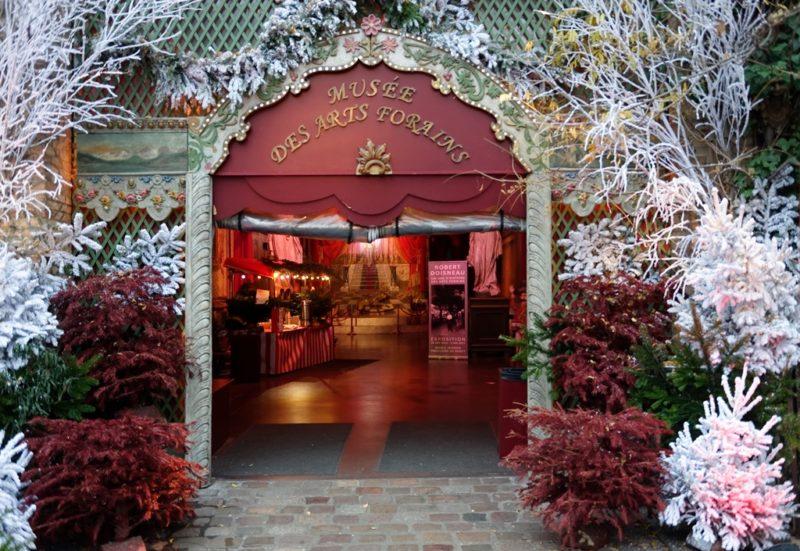 Le Musée des Arts Forains se visite tous les jours pendant les vacances d'hiver !