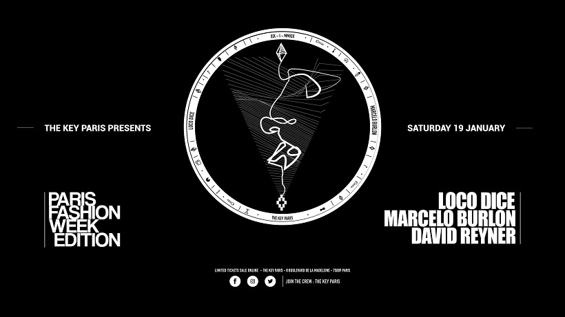 Loco Dice & Marcelo Burlon - Paris Fashion Week Edition