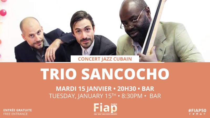 Concert Trio Sancocho @ FIAP