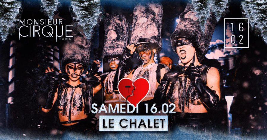★ Samedi 16 Février - Monsieur Cirque X Heartless ★