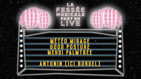 La Fessée Musicale Part en Live #5 !