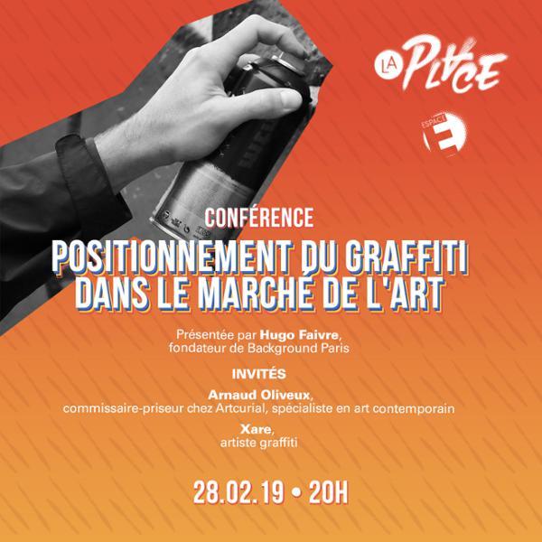 Conférence • Positionnement du graffiti dans le marché de l'art