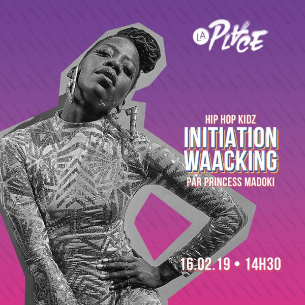Hip Hop Kidz • Initiation waacking • Princess Madoki