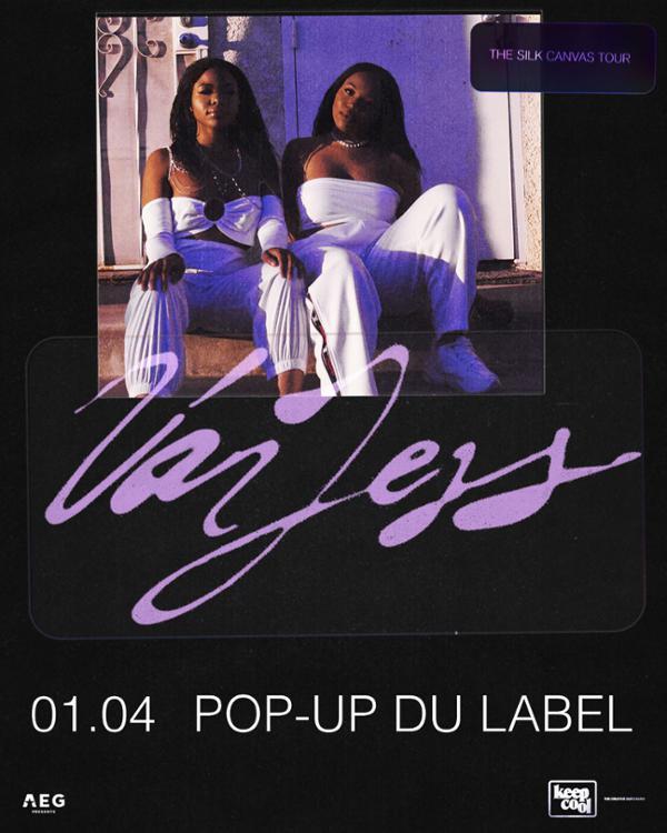 VanJess au Pop-up du Label le 1er avril !