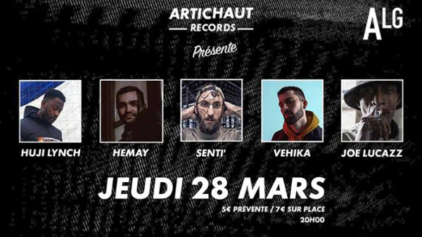 Joe Lucazz • Vehika • Senti' • Hemay • Huji Lynch - ALG PARIS