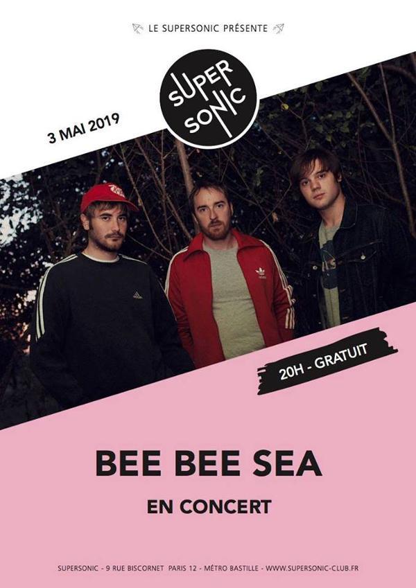 BEE BEE SEA (Garage Punk, Italie) en concert au Supersonic • Free