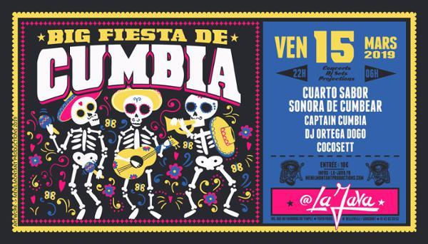 Big Fiesta de Cumbia à La Java !