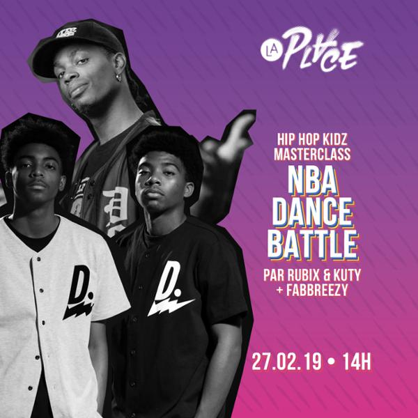 Hip Hop Kidz • Masterclass NBA Dance Battle
