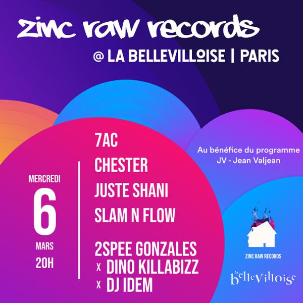 ZINC RAW RECORDS