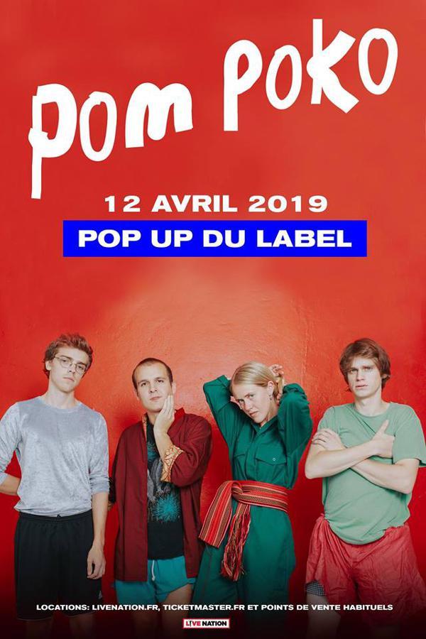 Pom Poko // 12.04.19 // Popup!