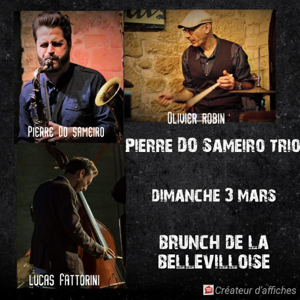 JAZZ BRUNCH : PIERRE DO SAMEIRO TRIO