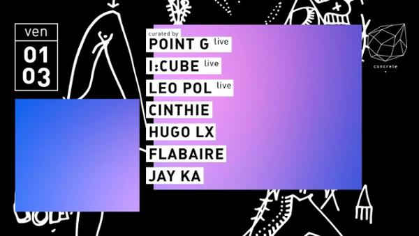 Concrete: I:Cube Point G Leo Pol Cinthie Hugo LX