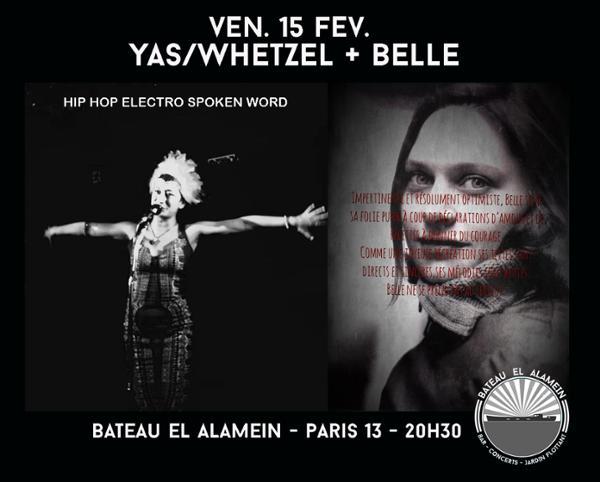 YAS/WHETZEL + BELLE