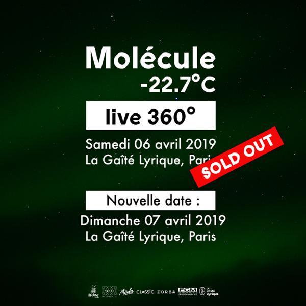 Molécule -22.7°C | Live 360°