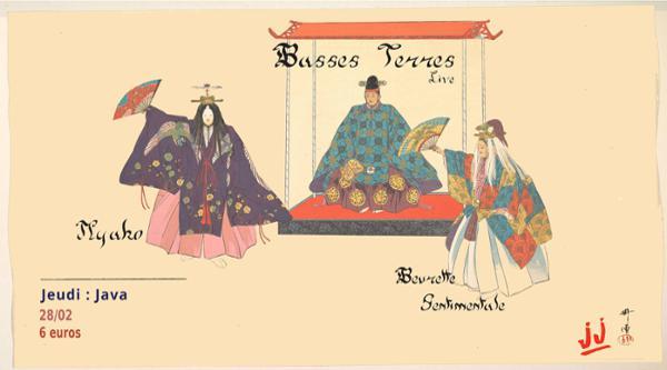 JJ : Basses Terres (Live) / Myako / Beurette Sentimentale