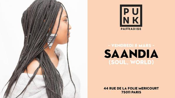 Saandia (soul, world) | Punk Paradise