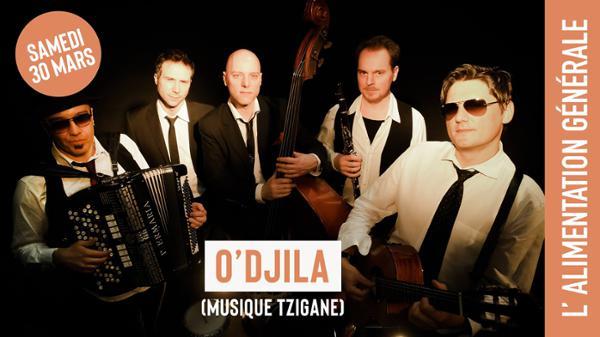 O'Djila (musique tzigane) // L'Alimentation Générale