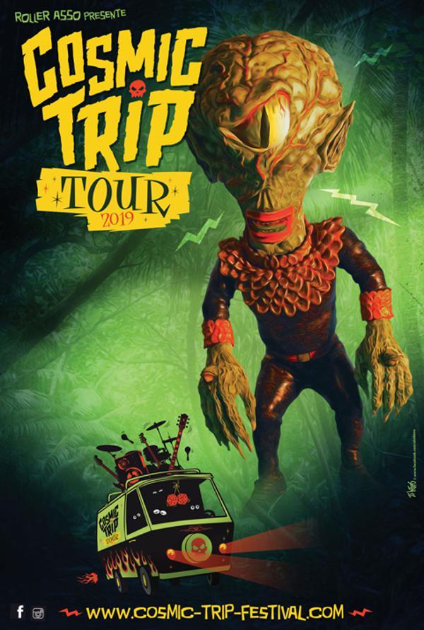 COSMIC TRIP TOUR : THE SCANERS + LES LULLIES + WEIRD OMEN