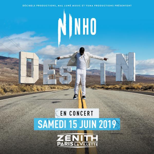 NINHO • Zenith Paris - La Villette • 15 juin 2019