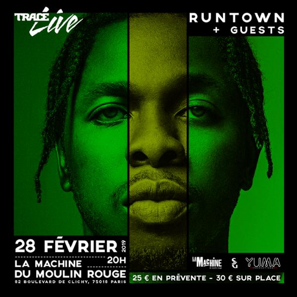 Runtown • La Machine du Moulin Rouge, Paris • 28 février 2019