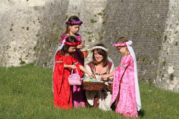 Chasse aux oeufs de Pâques à Provins