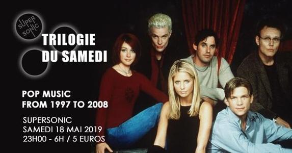 Trilogie du Samedi // Nuit 90s – 2000s du Supersonic