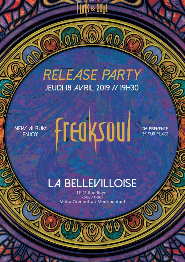 RELEASE PARTY : FREAKSOUL