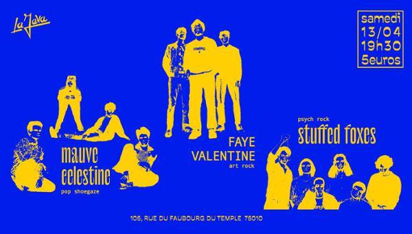 Mauve Celestine - Faye Valentine - Stuffed Foxes ll La Java ll