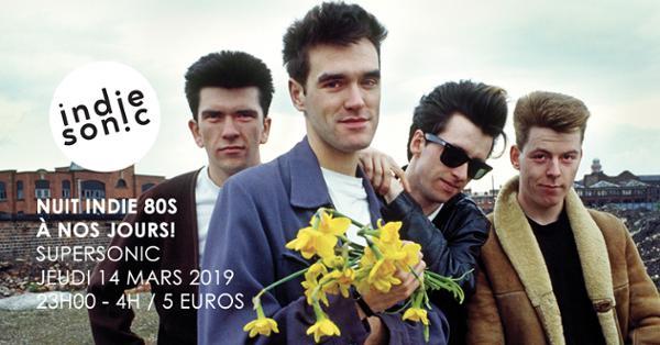 Mike Joyce (The Smiths) dj set / Nuit indie des 80s à nos jours