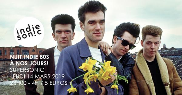 Mike Joyce (The Smiths) dj set / Nuit indie des 80s à nos jours