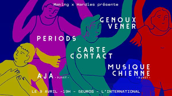 Genoux Vener / Periods / Carte Contact + DJ Sets