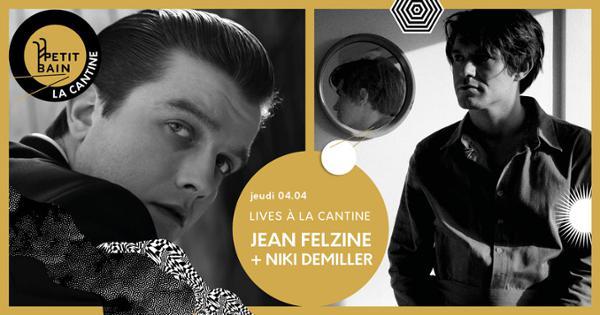 Double récital à Petit Bain : Jean Felzine & Niki Demiller