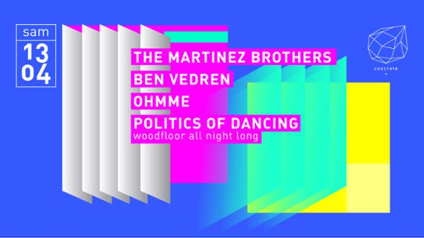 Concrete: The Martinez Brothers, Ben Vedren, Ohmme
