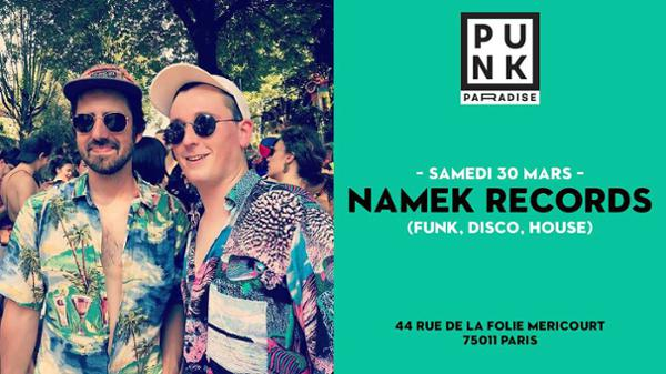 Namek Records (funk, disco, house) | Punk Paradise