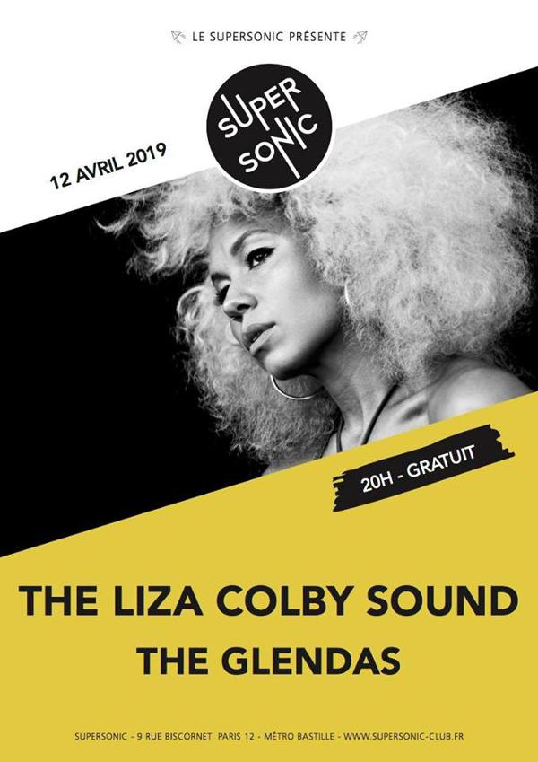 The Liza Colby Sound • The Glendas / Supersonic (Free entry)