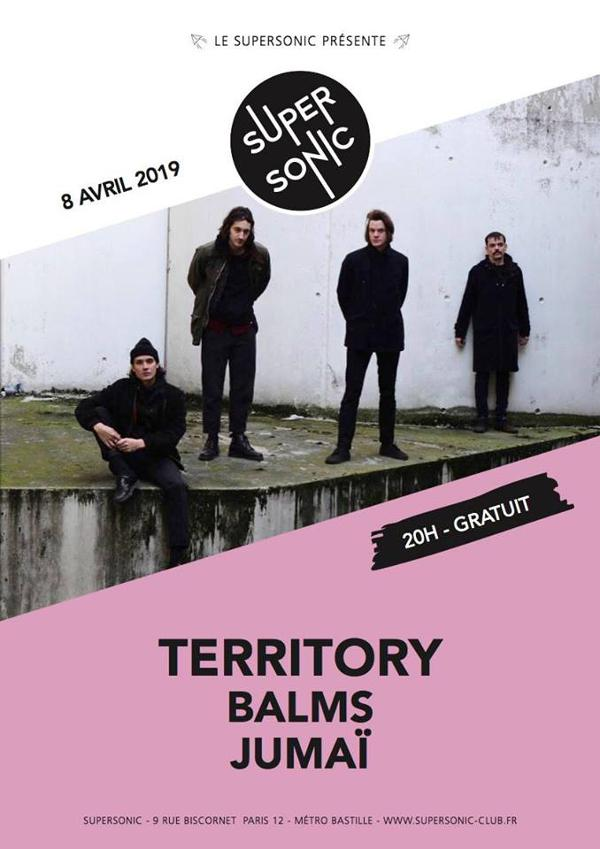 Territory • Balms • Jumaï / Supersonic (Free entry)
