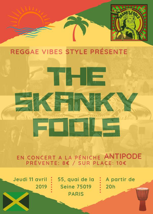 The Skanky Fools - Péniche Antipode