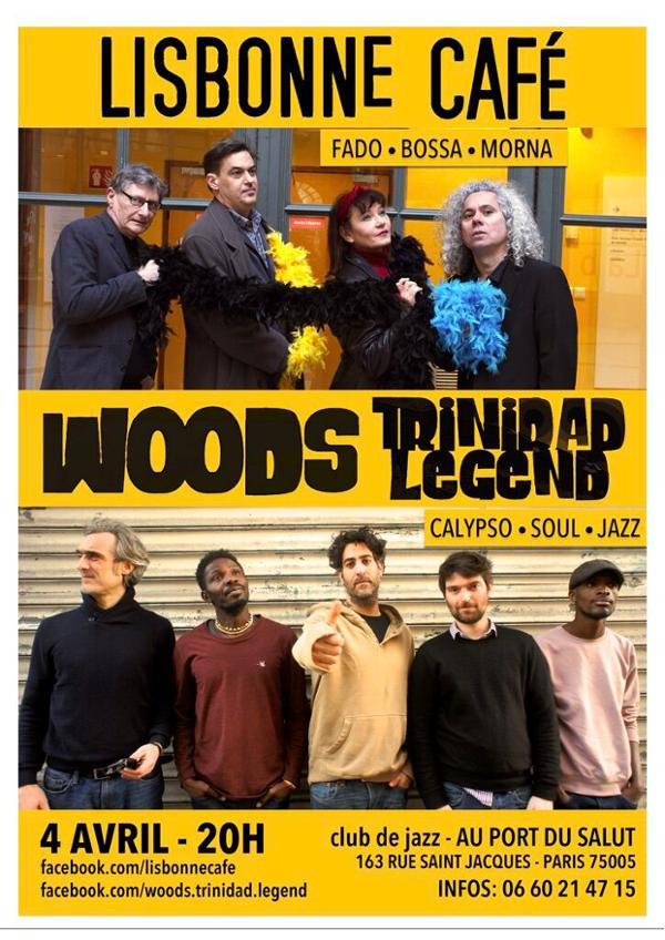 Lisbonne Café+Woods Trinidad Legend au Port du Salut