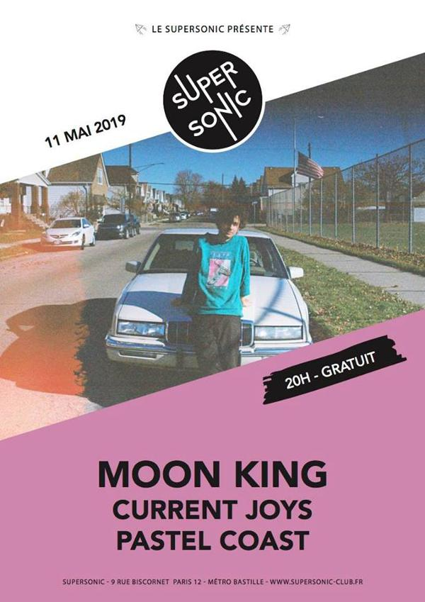 Moon King • Current Joys • Pastel Coast / Supersonic