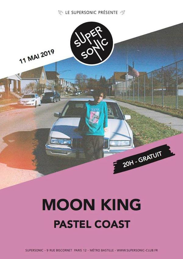 Moon King (Arbutus Records, CAN) • Pastel Coast / Supersonic