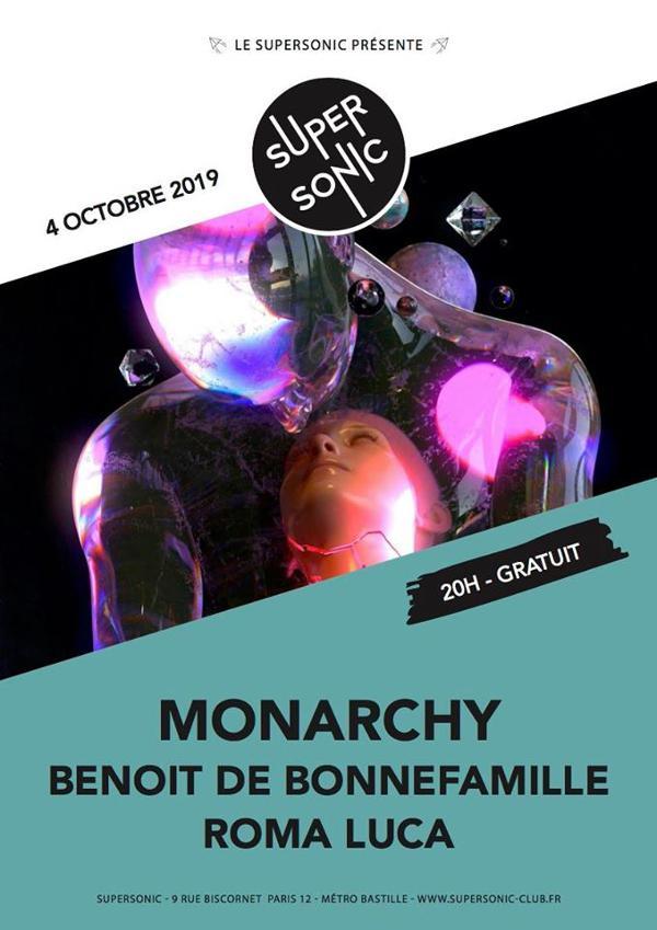 Monarchy • Benoit de Bonnefamille • Roma Luca / Supersonic