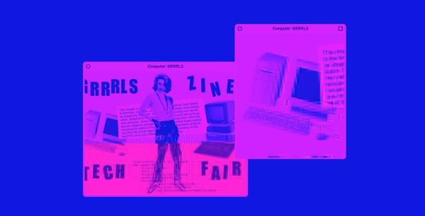 Salon de fanzines : Grrrls Tech Zine Fair