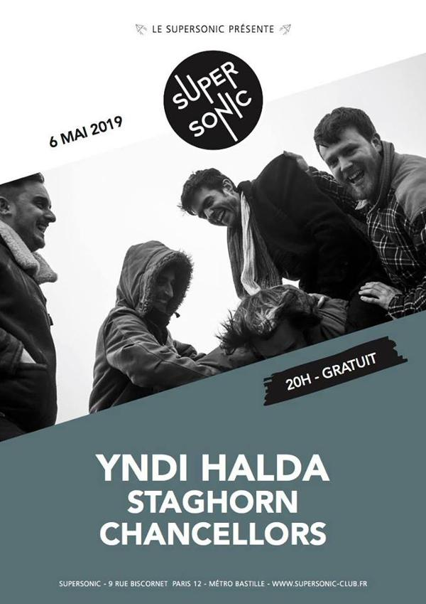 Yndi halda • Staghorn • Chancellors / Supersonic (Free entry)