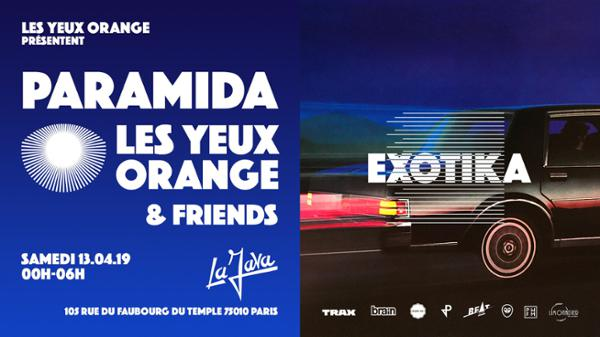 Paramida x Les Yeux Orange & Friends