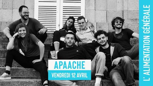 Apaache (groove, funk) // L'Alimentation Générale