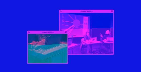 Performance : Wikifémia - Computer Grrrls