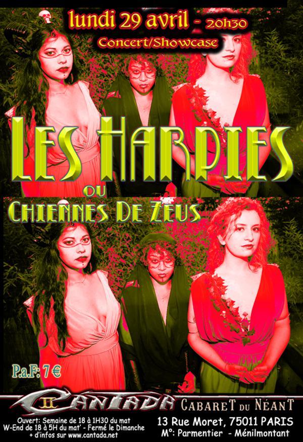 Les Harpies ou Chiennes de Zeus