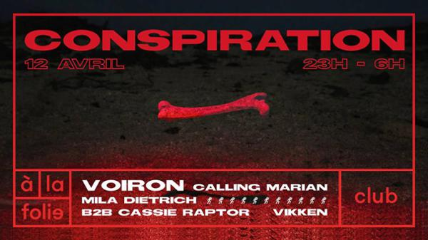 Conspiration invite Voiron
